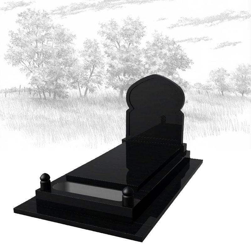 NOIR FIN PRÉLUDE Monument-funéraire-musulman-725J01R-avec-semelle